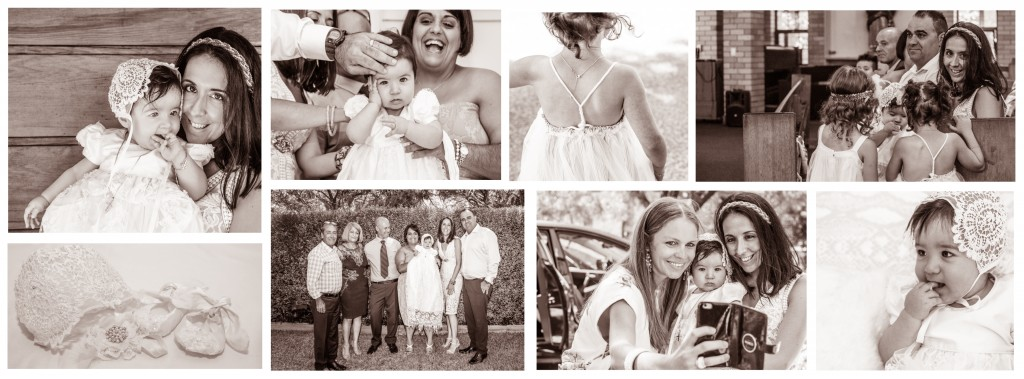 Alexia's Christening Collage