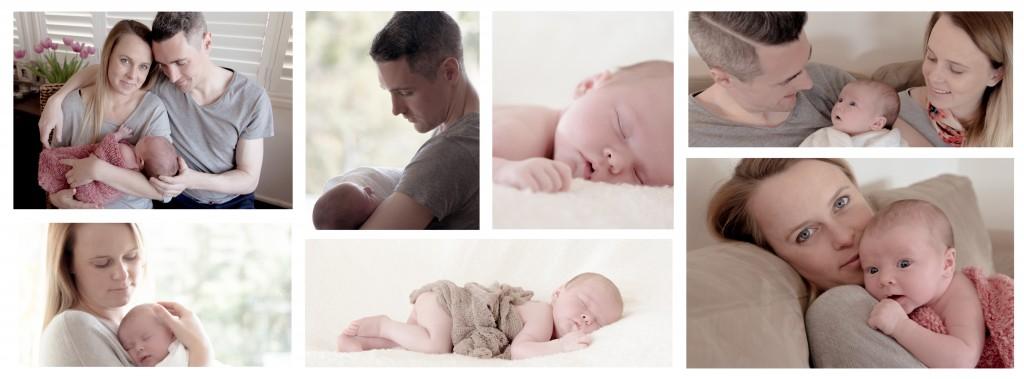 Baby Eva Collage
