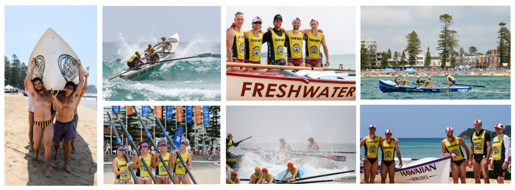 Manly Surf Boats Collage