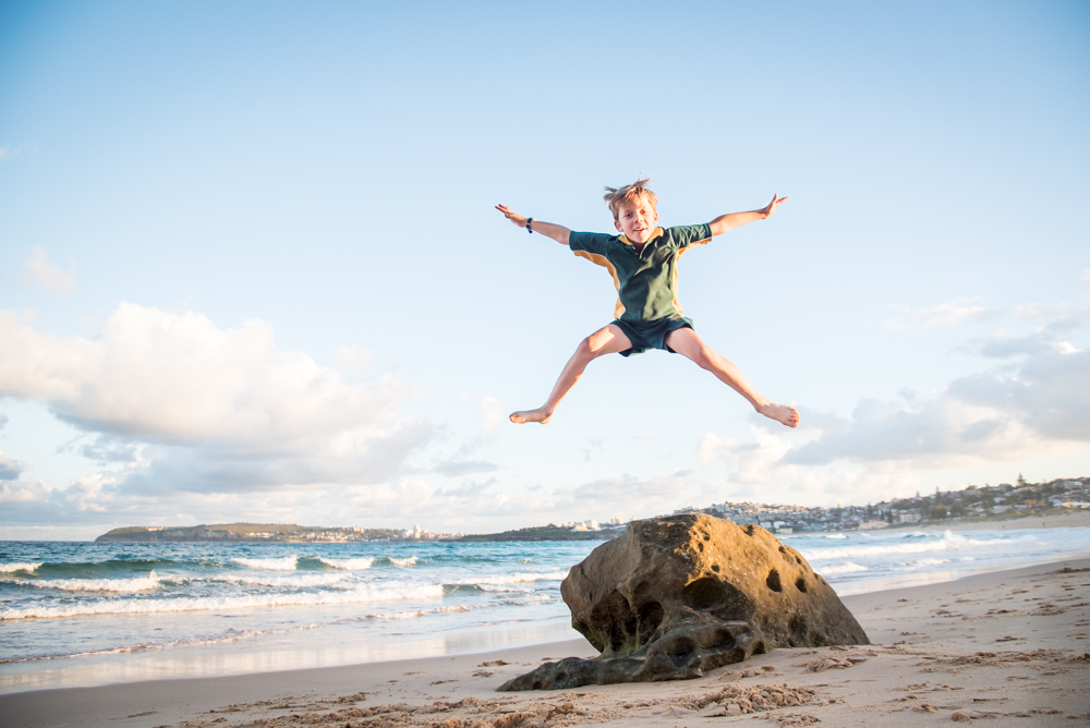 Amanda Naylor Photography boy at beach-1